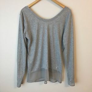 Adidas Climalite Low Back Scoop Neck Yoga Top